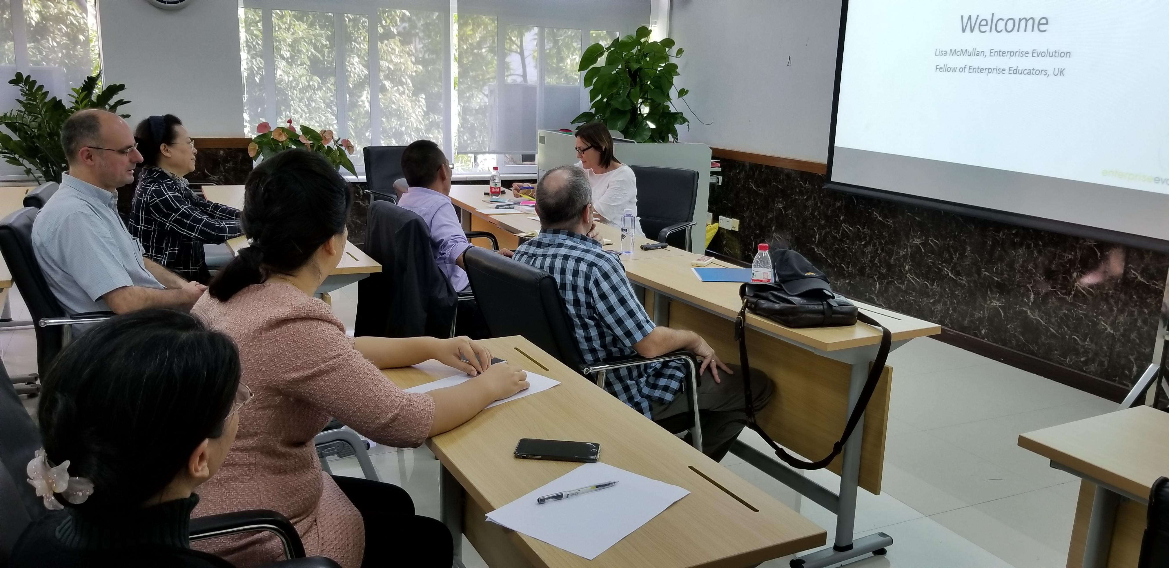 与会教师表示,工作坊气氛活跃,互动性强,对提升我院创新创业教育水平图片